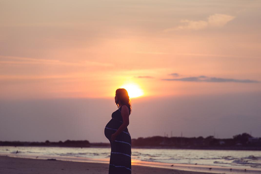 Portrait Of Sarah At Sunset New Smyrna Beach Florida